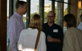 Reception brings together faculty and affiliates