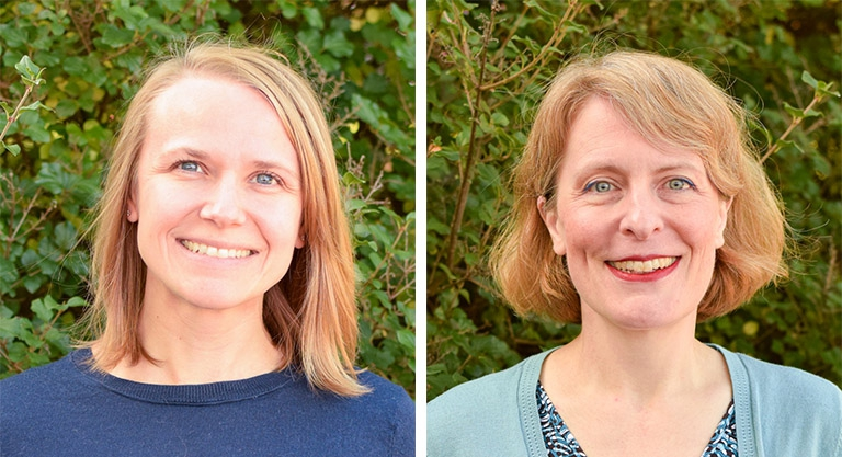 Megan Stritchko (MPA '09) and Marie Koko joined the La Follette School staff in September – Stritchko as the School's administrator and Koko as senior career services specialist.