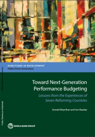 Moynihan shares performance budgeting study at World Bank
