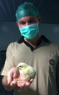 Daniel Bellefleur facilitates U.S. poultry technology in Indonesia.