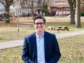 Student seeking seat on County Board