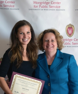 MPA student wins Excellence in Engaged Scholarship award