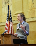 Presenters at the 36th Family Impact Seminar included Tessa Conroy, an assistant professor in the Agricultural and Applied Economics Department at UW-Madison and an economic development specialist with UW-Extension.