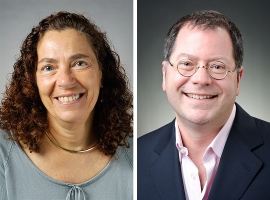 Professors Bobbi Wolfe and Seth Pollak