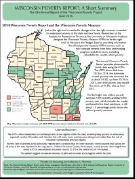 Annual study shows Wisconsin poverty remained flat despite new jobs