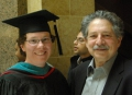 Amy Klusmeier and Paul Soglin, who taught courses in public management and public budgeting before being re-elected mayor of Madison in 2011.