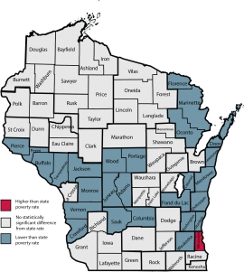 Study finds Wisconsin poverty rate increased in 2016 despite jobs growth