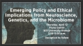 Symposium delves into neuroscience, genetics, the microbiome