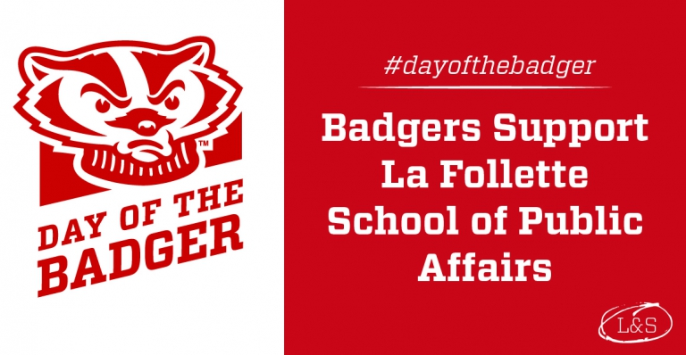 Support the La Follette School on Day of the Badger